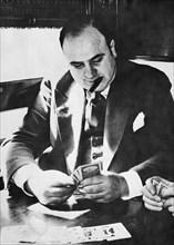 AL CAPONE  US gangster  1899-1947