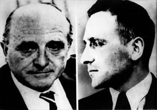 Jan. 01, 1940 - Germany - File Photo. Nazi leader KLAUS BARBIE (in both pictures). KEYSTO