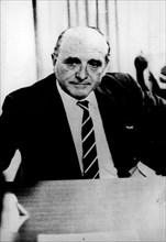 Feb 05, 1972; Paris, France; Nazi chief of the Nazi Gestapo, KLAUS BARBIE.