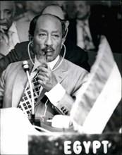 Apr. 04, 1979 - Mohamed Anwar el-Sadat, President if Egypt since 15 October 1970.