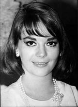 Close-up of actress Natalie Wood