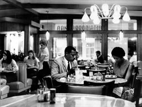 Jan 04, 2005; Atlanta, GA, USA; (File Photo. Date Unknown) African Americans eat in Segregated Diner..