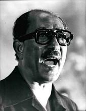 Feb. 28, 2012 - Sadat: Mohamed Anwar El-Sadat, President of Egypt since 15 October 1970, and supreme commander of the Armed Force. Born 27 December 1918