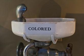 Segregated drinking fountain, 1940s / 1950s - USA
