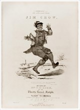 """'Jim Crow' as sung by Thomas D. Rice (1832-1860) also known as """"Daddy Rice"""". See description for more information."""