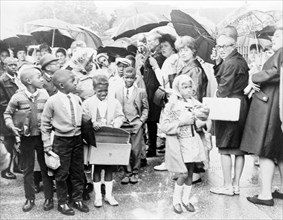 Racism, Mothers Protest Desegregation, 1965