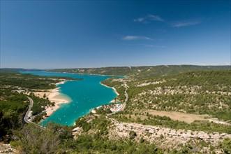 Lake Sainte Croix, Provence, France.