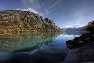 Lake Serre-Ponçon, Provence France