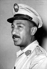 Anwar Sadat, 1953
