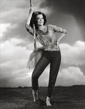 Publicity photo of Natalie Wood, circa 1961. File Reference # 31202_101THA