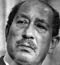 Muhammad Anwar el-Sadat (1918 - 1981), President of Egypt, serving from 15 October 1970 until his assassination by fundamentalist army officers on 6 October 1981. Sadat was a senior member of the Free...