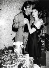 Thierry Ardisson et sa femme Béatrice, 1988