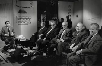 """Emission """"Apostrophes"""" sur Antenne 2, 1987"""