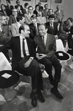 Alain Juppé et Jacques Toubon, 1985