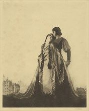 Paolo and Francesca; Arthur F. Kales, American, 1882 - 1936, about 1925; Bromoil print; 33.2 x 26.7 cm 13 1,16 x 10 1,2 in