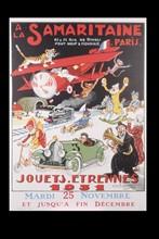 Affiche de Noël de La Samaritaine, 1931