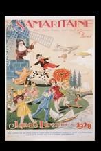 Affiche de Noël de La Samaritaine, 1928