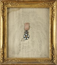 Order of the legion of Honour. Knight's decoration of the 3rd type