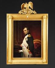 L'Empereur Napoléon 1er dans son cabinet de travail en 1807