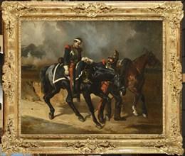 Alfred de Dreux, Le cuirassier blessé
