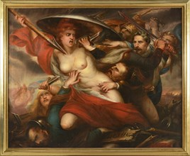 Bologna School, Allegory of the Conquest of Mexico