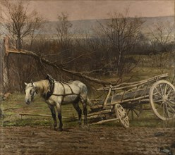 Detaille, The cart