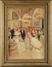 Auguste Gorguet, Un bal au château de Fontainebleau