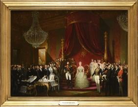 Court, La commission du Musée Napoléon présente à leurs Majestés impériales