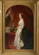 From Winterhalter, Empress Eugenie de Montijo, wife of Napoleon III