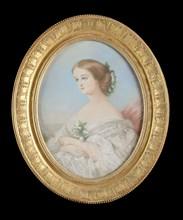 Holfeld, Portrait of French Empress Eugenie