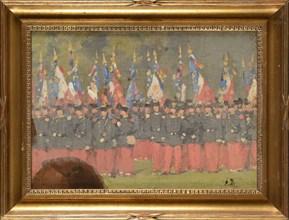 Detaille, L'infanterie et ses drapeaux