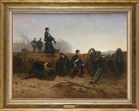 Bellecour, Artillery observers in 1870