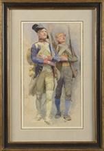 Edouard Detaille (1848-1912), Soldats de l'An 2