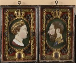 Emperor Maximilan and Empress Carlotta of Mexico