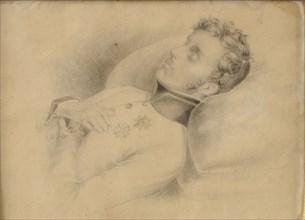 Le duc de Reichstadt sur son lit de mort