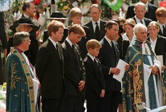 L'enterrement de princesse Diana