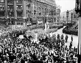 La couronnement du roi George VI