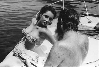Richard Burton et Elizabeth Taylor