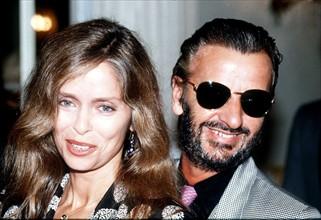 Ringo Starr et sa femme Barbara Bach