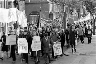 Manifestation anti-apartheid