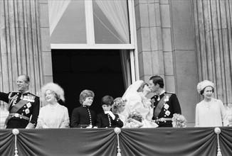Mariage du Prince Charles et de Diana Spencer