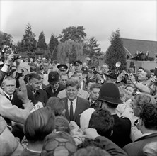 JFK en visite officielle en Angleterre
