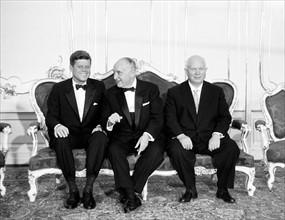 JFK en visite officielle en Autriche