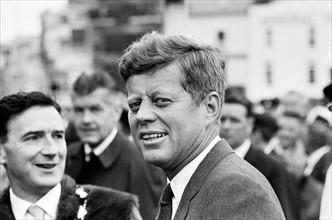 JFK en visite officielle en Irlande