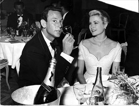 Lord White et Grace Kelly