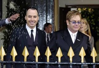 David Furnish et Elton John