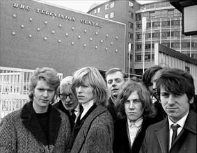 David Bowie et son groupe The Mannish Boys