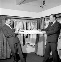 Test de résistance d'un lainage, 1956