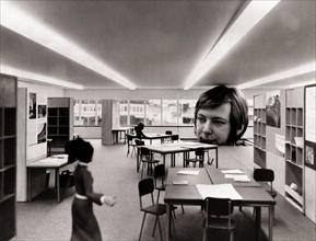 Tests d'éclairage dans des salles de classe