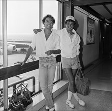 Andrew Ridgeley et George Michael, 1984